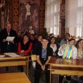 День писемності в Кіцманському технікумі ПДАТУ