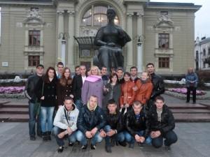 Відвідування театру О.Кобилянської