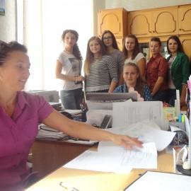 Ознайомлення студентів з роботою органів ДКСУ в Кіцманському районі