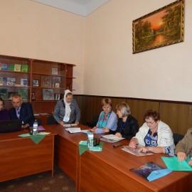 Перший день роботи комісії вищих навчальних закладів  І-ІІ рівня акредитації з педагогічного досвіду