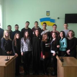 Студенти-правники відвідали судове засідання в суді