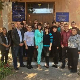 Зустріч студентів-правників з фахівцями Державної виконавчої служби