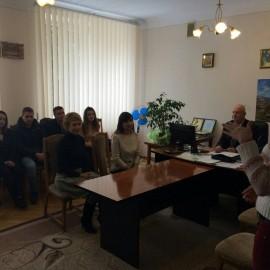 Студенти-правники зустрілися з фахівцями Кіцманської  РДА