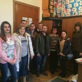 Зустріч студентів-правників зі спеціалістами соціальних служб  та бюро правової допомоги Кіцманського району