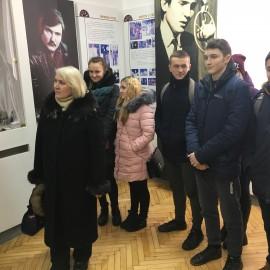 Екскурсія до музею В. Івасюка