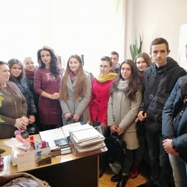 Екскурсія студентів  до  Фінансового  управління Кіцманської  РДА
