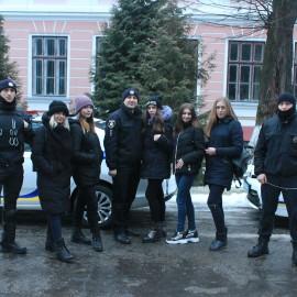Зустріч із представниками поліції