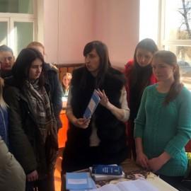 Зустріч студентів-правників з членами виборчої комісії