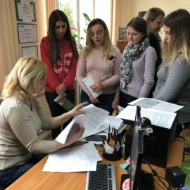 Зустріч студентів-правників зі спеціалістами  Кіцманського бюро правової допомоги