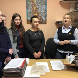 Студенти-правники зустрілися з спеціалістами Кіцманської міської ради ОТГ