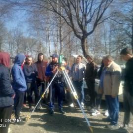 Зустріч студентів-землевпорядників з представником  землевпорядного виробництва