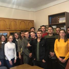 Зустріч студентів-правників з нотаріусом