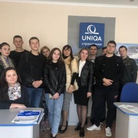 Студенти-правники зустрілися з спеціалістом  страхової компанії УНІКА (UNIQA)