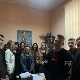 Майбутні юристи коледжу  зустрілися з спеціалістами Кіцманської міської ради ОТГ