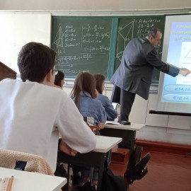 Відкрите заняття з дисципліни «Математика»