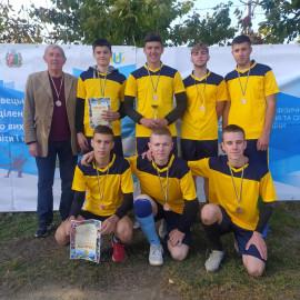 Бронзові призери обласних Спортивних  ігор – студенти  Кіцманського коледжу ПДАТУ